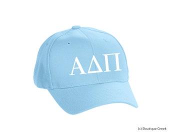ADPi Alpha Delta Pi Classic Letters Hat