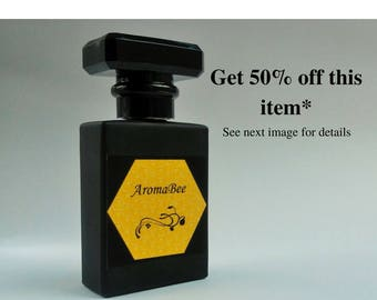 Natural perfume / perfume all natural / botanical perfume / artisan perfume / water based perfume / alcohol free perfume -various fragrances