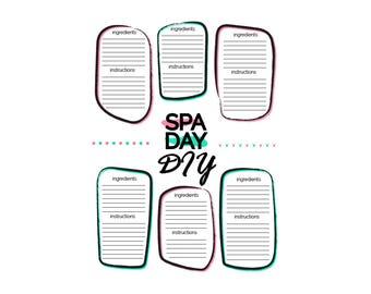 Spa Day DIY