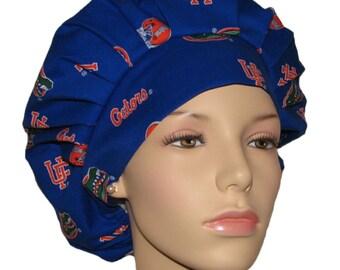 Scrub Hats - University Of Florida Gators Fabric