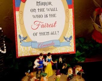 Snow White Inspired Sign