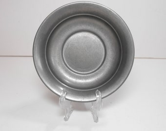 Web Pewter #1127 Underplate Saucer or Bowl   (111)