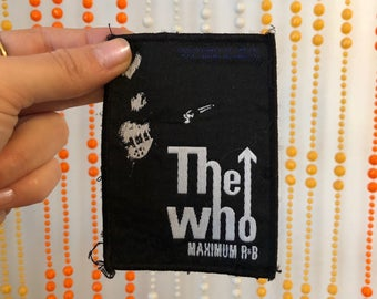 THE WHO Maximum R&B Patch