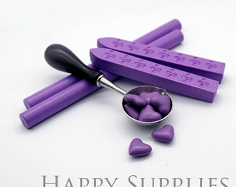 Lavender Sealing Wax for Wax Seal Stamp Set