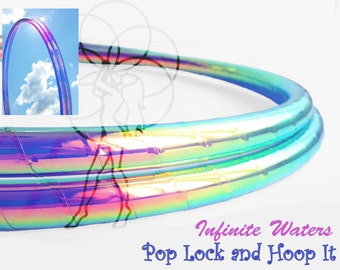 Infinite Waters Taped Polypro Hula Hoop or HDPE Hula Hoop Hula Hoop or Minis 3/4 or 5/8