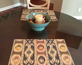 Custom Made to Order Placemats Using Your Fabric