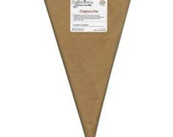 Cappuchino 8 oz Squeeze Ums - Candy Center Filling Bag Soft Center Drizzle