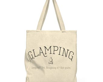 Glamping Shoulder Tote Bag  Roomy