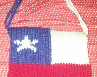 """Double bag flag Chile 8 """"square-anse"""