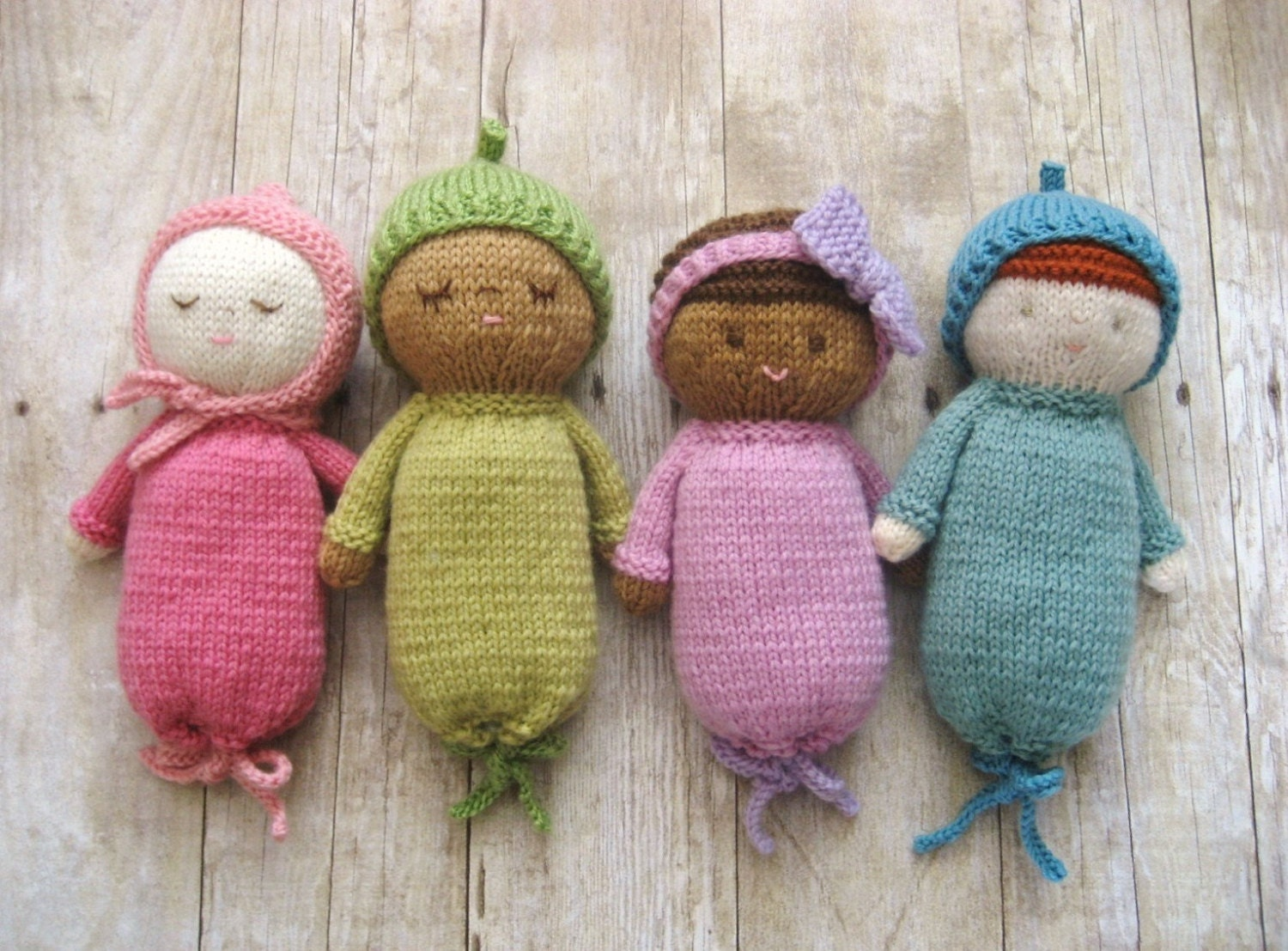 Amigurumi Baby : Amigurumi knit baby doll patterns digital download