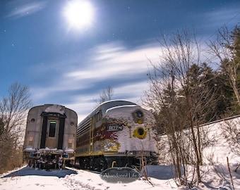 Snow Train to Nowhere - Abandoned Adirondacks- urban exploration,  abandoned, rural, urbex, train, graveyard, lackawanna