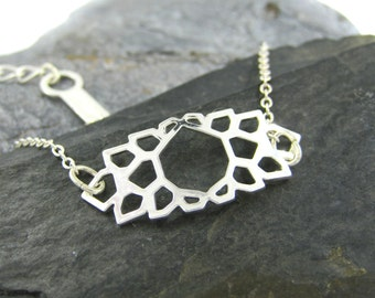 Boho Silver Bracelet, Geometric Bracelet, Simple Bracelet, Elegant Gifts, Geometric Jewelry, Boho Bracelet, Delicate Bracelet, Unique Gift
