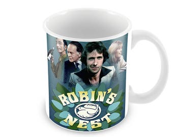 Robin's Nest Ceramic Coffee Mug    Free Personalisation