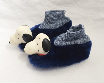 little kids deadstock snoopy slippers size 10