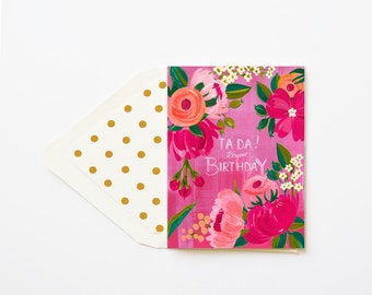 Ta Da! It's your Birthday Card