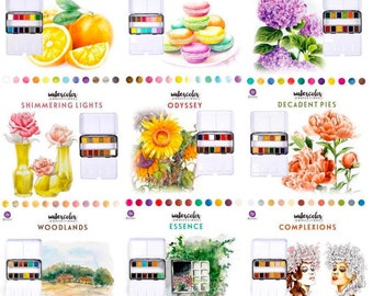 Choice of Watercolor Confections - Prima