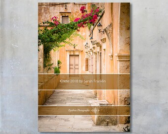 2018 Crete, Greece travel photos 5x7 desk calendar loose leaf diary art travel photography gift under 20 photographs month per page