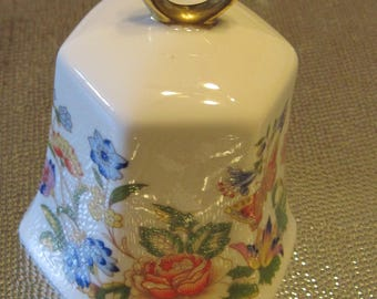 Aynsley Bone China Bell - Cottage Garden