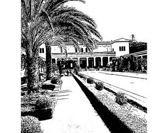 Getty Villa Drawings