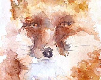 """The Right Moment ORIGINAL watercolour painting on heavy arches cotton paper 9.5"""" x 13.5"""""""