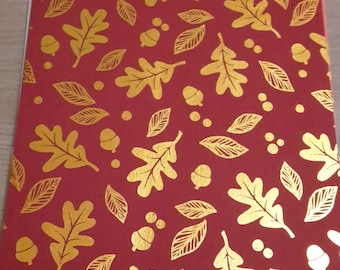 Adhesive fabric leaves