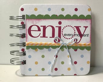 Enjoy Every Moment Password Book