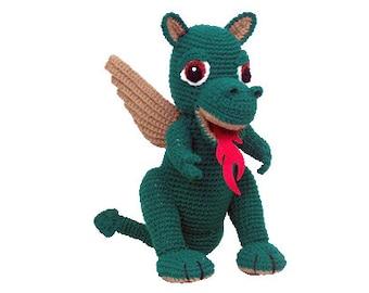 PDF Amigurumi Dragon - Crochet Dragon Pattern Leo - PDF Pattern (7330) Td Creations