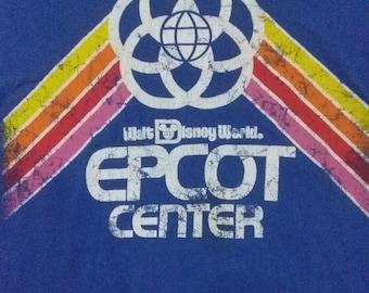Epcot center. Walt disney world. Vintage t-shirt Large
