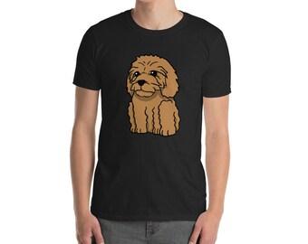 Funny Goldendoodle Shirt, Cute Cartoon Doodle Dog Gift T-Shirt
