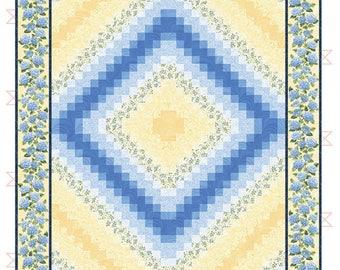 Easy Trip Around The World Quilt Pattern