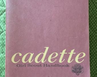 Cadette- 1968-Girl Scout Handbook