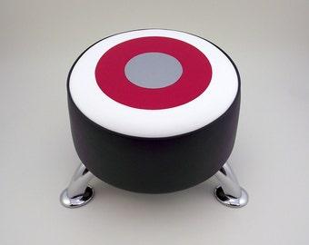 Hot Rod Target footstool