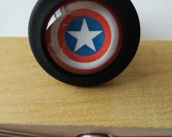 Captain America Silicone Buttplug