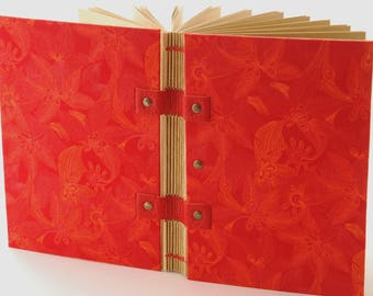 Travel book on bottom of the jungle, A6 size, gift for adventurers, journal, diary, notebook