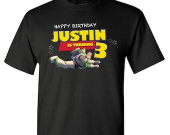 SAVE 10% on Buzz Lightyear Birthday Shirts, Buzz Lightyear birthday, Toy Story, Birthday Shirts, Family Shirts, Toy Story Family shirts,