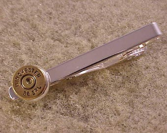 Winchester 38 Special Bullet Tie Clip Recycled Repurposed