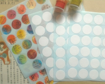 420 pcs x 16 mm Round label sticker