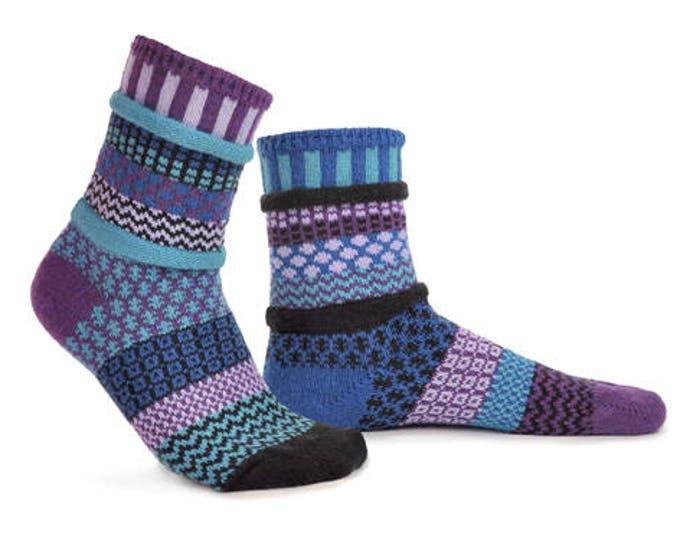 Solmate Socks - Raspberry Crew