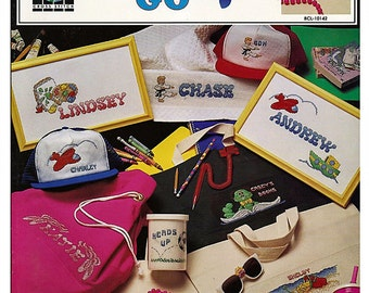 Kids on the Go True Colors Cross Stitch Pattern Book BCL-10142