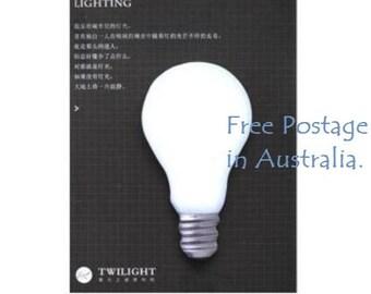 Twilight 'Lighting' Light Bulb Post-It Sticky Notes