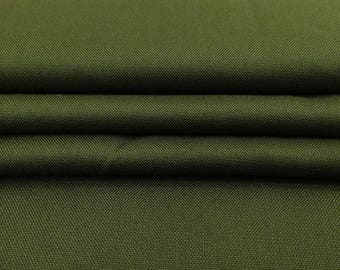 """Olive Green Fabric, Dressmaking Fabric, Handmade, Sewing Crafts Accessories, 42"""" Inch Rayon Fabric By The Yard PZBR6D"""
