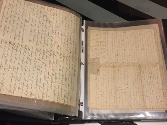 Civil War Correspondence, 1864 - 1865: fifty letters between Union soldier and wife, related ephemera