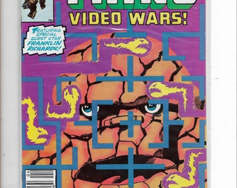 Marvel Two-In-One #98 Fantastic Fours' The THING/Video wars