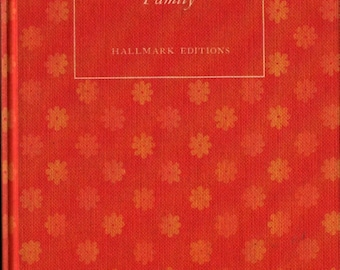 It's All in the Family + Hallmark Editions + Norma Vasey Webb, editor + John Huenergarth + 1970 + Vintage Gift Book