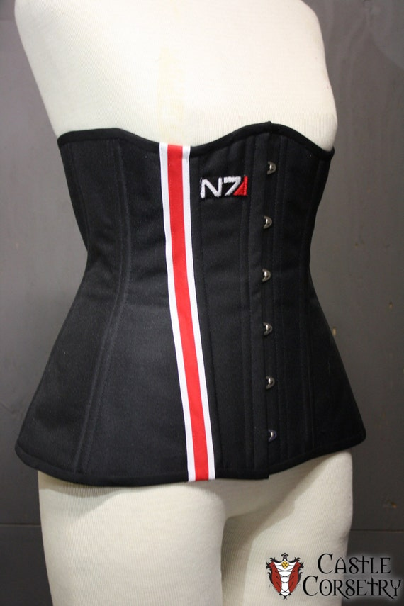 Mass Effect Long Line Corset