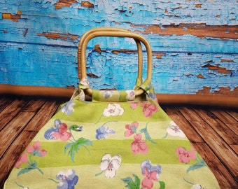70s / 80s floral bag.
