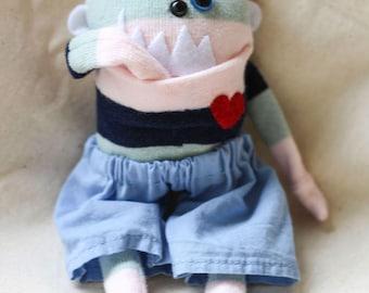 Sock Monster – Beryl – Pocket Size