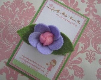 hair clips for girls - barrettes for girls - flower hair clips - no slip hair clips