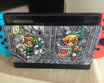 Legend of Zelda Nintendo Switch Dock Cover/Dock Sock