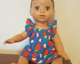 Luvabella Doll Clothes - Apples Nightgown